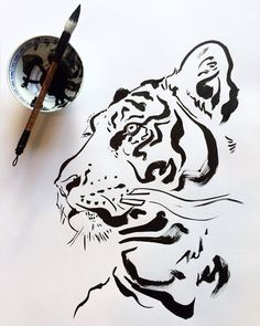 Get tiger drawing HD Wallpaper [] asugio-wall.tech - Get tiger drawing HD Wallpaper [] asugio-wall.tech Get tiger drawing HD Wallpaper [] asugio-wall. Animal Sketches, Art Sketches, Art Drawings, Owl Tattoo Drawings, Easy Animal Drawings, Tiger Sketch, Tiger Artwork, Tiger Painting, Tiger Illustration