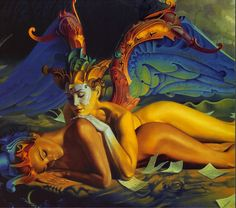 Gil Bruvel 1959 | Australian-born French Visionary painter | TuttArt@ | Pittura * Scultura * Poesia * Musica |
