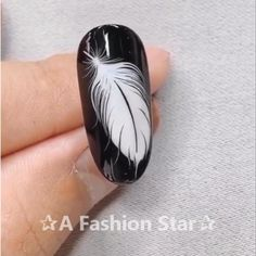 Nail Art ✰A Fashion Star✰ nail design nail art nails 595741856940923529 Nail Art Designs Videos, Nail Design Video, Nail Art Videos, Cool Nail Designs, Star Nail Art, Star Nails, Star Art, Pretty Nail Art, Beautiful Nail Art