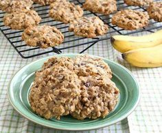 When you have a sweet tooth and want to stay on track, here's a nice treat.  Sugar is NOT an added ingredient.  3 mashed bananas (ripe)  1/3 cup apple sauce  2 cups oats  1/4 cup almond milk  1/2 cup raisins (optional)  1