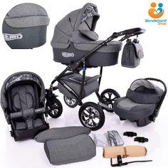 Modern Baby Pram Pushchair Stroller Buggy CAR SEAT SWIVEL WHEELS 12 Colors in Baby, Pushchairs, Prams & Accs., Pushchairs & Prams | eBay!