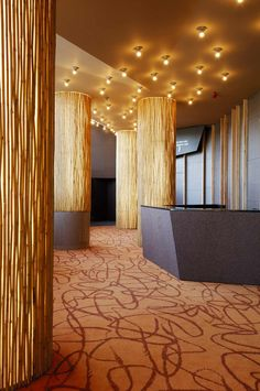 interior wood columns
