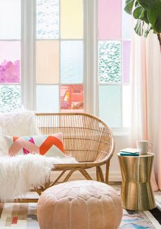 Colorful DIY Window Film in an Hour