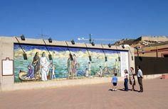 Mural de Ramón Alonso Luzzy - Cartagena - España