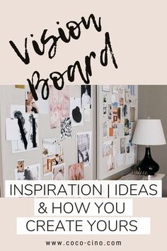 An essential tool to motivate yourself is to keep your goals in mind, and that wonderfully works with a vision board. It is a collection of words and images that motivate you, help you to believe in yourself and conjure up a smile on your face. I will give you ideas for your personal vision board and show you what you need to create it. #visionboardexamples #motivation #goalreminder #visionboardideasdiy #howtodoavisionboard #visionboardinspiration #makinavisionboard #goalboardideas #moodboard Gratitude Journal Prompts, Goal Board, Creating A Vision Board, Happiness Is A Choice, Need Motivation, Daily Goals, How To Stay Motivated, Motivate Yourself, Board Ideas
