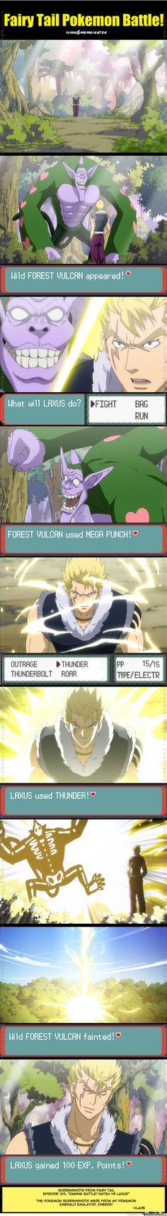 Pokemon Fairy Tail Battle (1)