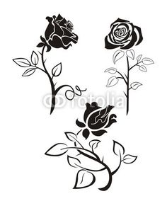 roses and butterflies tattoos Flower Tattoo Foot, Flower Tattoo Designs, Flower Tattoos, Foot Tattoos, Tatoos, Stencil Rosa, Rose Stencil, Flower Silhouette, Silhouette Painting