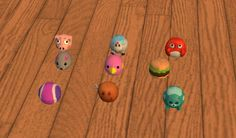 ~Twelve Days of Simsmas~ Day Pet Toys Converted! And one toy. The ball comes in both cat and dog versions, the mouse and bird are for cats, and the rest are for dogs. The Sims 2, Sims 4, Sims 2 Pets, 24 And Me, Buy Pets, Pet Toys, Dog Cat, Bird, Cats