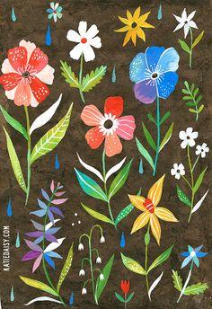 Botanical Poster - 13x19 vertical print