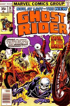 Cover for Ghost Rider (Marvel, 1973 series) #28 February 1978