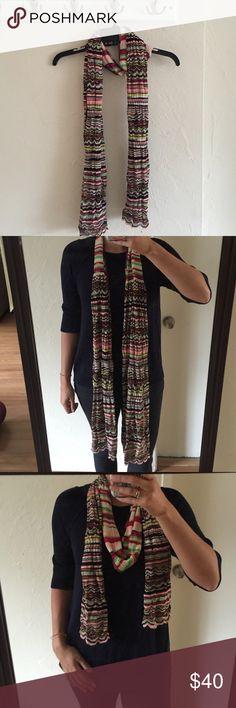 Missoni scarf Multi colored Missoni scarf. Made in Italy. Missoni Accessories Scarves & Wraps