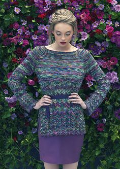 Ravelry: L9-05 Elderberry pattern by Louisa Harding