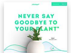 Plantapp web by Carlos Pariente