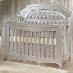 Alexa Convertible Crib Diamond Tufted Panels