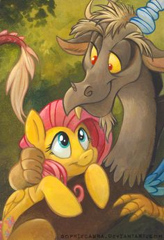 Flutterpated by *sophiecabra on deviantART I will probably always ship these two