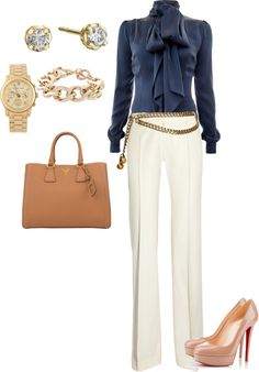 """Classic."" by ambonar on Polyvore"