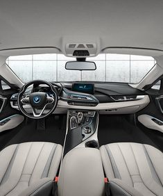 BMW Plug-in Hybrid Sports Car Officially Revealed <br> Four years ago at the Frankfurt Motor Show, BMW revealed one of the most exciting concept vehicles in mark history, the BMW Vision Efficient Dynamics Electric Sports Car, Electric Car Charger, Bmw I8, Bmw Interior, Interior Concept, Preppy Car Accessories, Family Car Decals, New Luxury Cars, Audi Cars