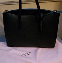 Like new. No tag with dustbag. Excellent condition. No markings. Retail price $398. Kate Spade Totes, Kate Spade Tote Bag, Michael Kors Jet Set, Dust Bag, Retail Price, Tote Bags, Tote Bag, Totes