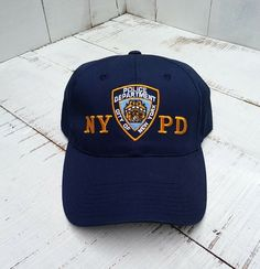82983aaaa23 NYPD New York Police Department Hat New York City  fashion  clothing  shoes