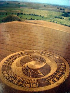 Crop Circle by COLLTHINGS, via Flickr