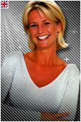 Ulrika Jonsson - 1992 - 1999 and Ulrika Jonsson was born in Sweden before she worked as the weather forecaster when she was 22 years of age on TV - am on the 12th September 1989 before she started presenting the Gladiators on its first Saturday night debut on the 10th October 1992 at the National Indoor Arena, Birmingham (now Barclaycard Arena) and she was the longest Gladiators hostess from Series 1 (1992) and she was Hunter's girlfriend on the date.