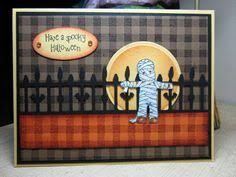 Image result for homemade halloween cards