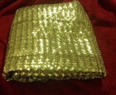 Vintage Sequin Gold Material Columbia Rocky Horror Costume Tailcoat Skip A Row | eBay