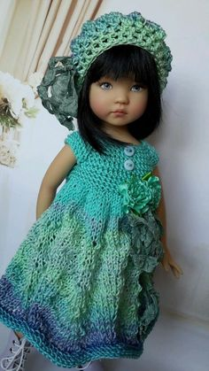 OOAK Outfit for doll 13  Effner Little Darling) collection summer gradient