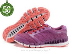 Officiel Adidas 2016 - Adidas Climacool 5 Chaussures D´amoureux Pourpre (Adidas Zx Pas Cher)