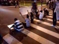 Protestos e imposto