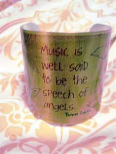 Music Is Well Said to Be The Speech of Angels  Carlyle by kiki6462, $28.00