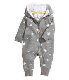 patterned snuggle suit | H&M kids US