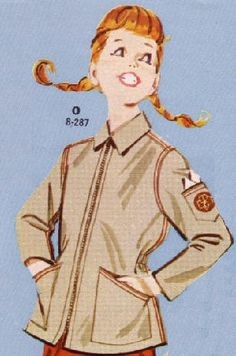 girl scout jacket