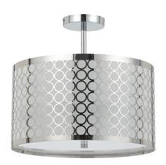 Ravenna 3-Light Drum Pendant