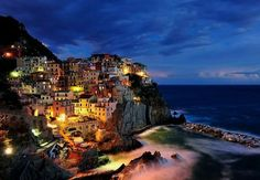 Cinque Terre, which located in the Northwestern of Italy, literally mean 'Five Lands' in Italian. The resort has a most charming longest coastline along the Mediterranean. On the beautiful Ligurian coast, the five small fishing villages lay in the mountains next to the sea.