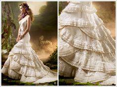 More flamenco wedding dresses