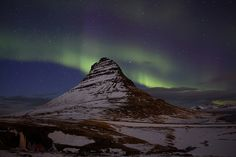 Aurora Borealis, Northern Lights...  Grundarfjoerdur, Snaefellsnesog Hnappadalssysla, Iceland.