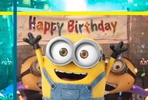 Special days celebrated with the Minions. Happy Minions, Minions Bob, Minions Images, Cute Minions, Minions Despicable Me, My Minion, Minions Quotes, Minions 2014, Minion Birthday Meme