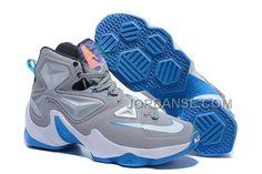 http://www.jordanse.com/2016-nike-mens-basketball-sneakers-lebron-13-grey-black-blue-white-online.html 2016 NIKE MENS BASKETBALL SNEAKERS LEBRON 13 GREY BLACK BLUE WHITE ONLINE Only 120.00€ , Free Shipping!
