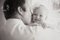 Something Wonderful Photography // Roseville, CA // baby girl daddy, 6 month photos
