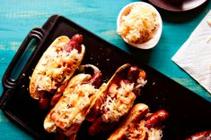 Reuben Hot Dogs | 25 Hot Dogs That Went Above And Beyond