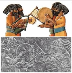 Black Hebrew Israelites | Image of Israelites from the time of the Assyrian Empire.