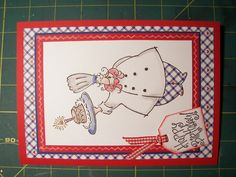 Stampin Up! chef card