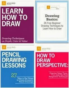 Teach yourself how to draw like an artist with these free, downloadable eBooks and video from ArtistDaily.com