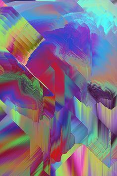 Glitch art, modern art artists и collage art. Pattern Art, Abstract Pattern, Abstract Art, Modern Art Artists, Collage Art, Collages, Psychedelic Art, Psychedelic Pattern, Generative Art