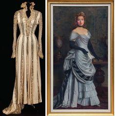 "Mrs. Parkington (1944)  1. Greer Garson ""Susie 'Sparrow' Parkington ivory lace gown  2. Greer Garson ""Mrs. Parkington"" portrait"