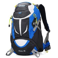Hiking Daypack Outdoor Waterproof Travel Backpacks Climbing Camping Sports Backpack for Hiking Climbing Running Cycling Blue >>> Read more  at the image link. (This is an Amazon affiliate link)