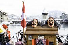 #luzern #lucerne #fasnacht #carneval Opera House, Building, Travel, Lucerne, Viajes, Buildings, Destinations, Traveling, Trips