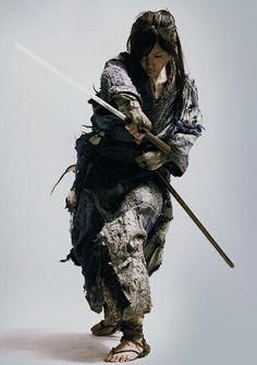 Samurai girl...