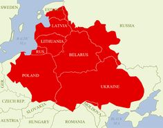 The Polish-Lithuanian Commonwealth (Elective Monarchy, Nobility Republic, Kingdom, Realm, Empire, Reich)   Poland-Lithuania in 1619 vs today's frontiers, borders => https://www.pinterest.com/pin/349803096032891722/